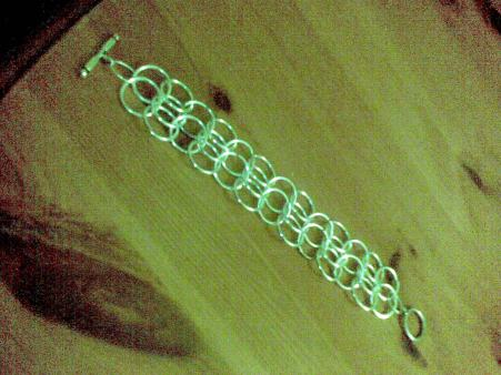 bling chainmail bracelet (2)