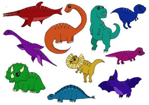 10 dinosaurs