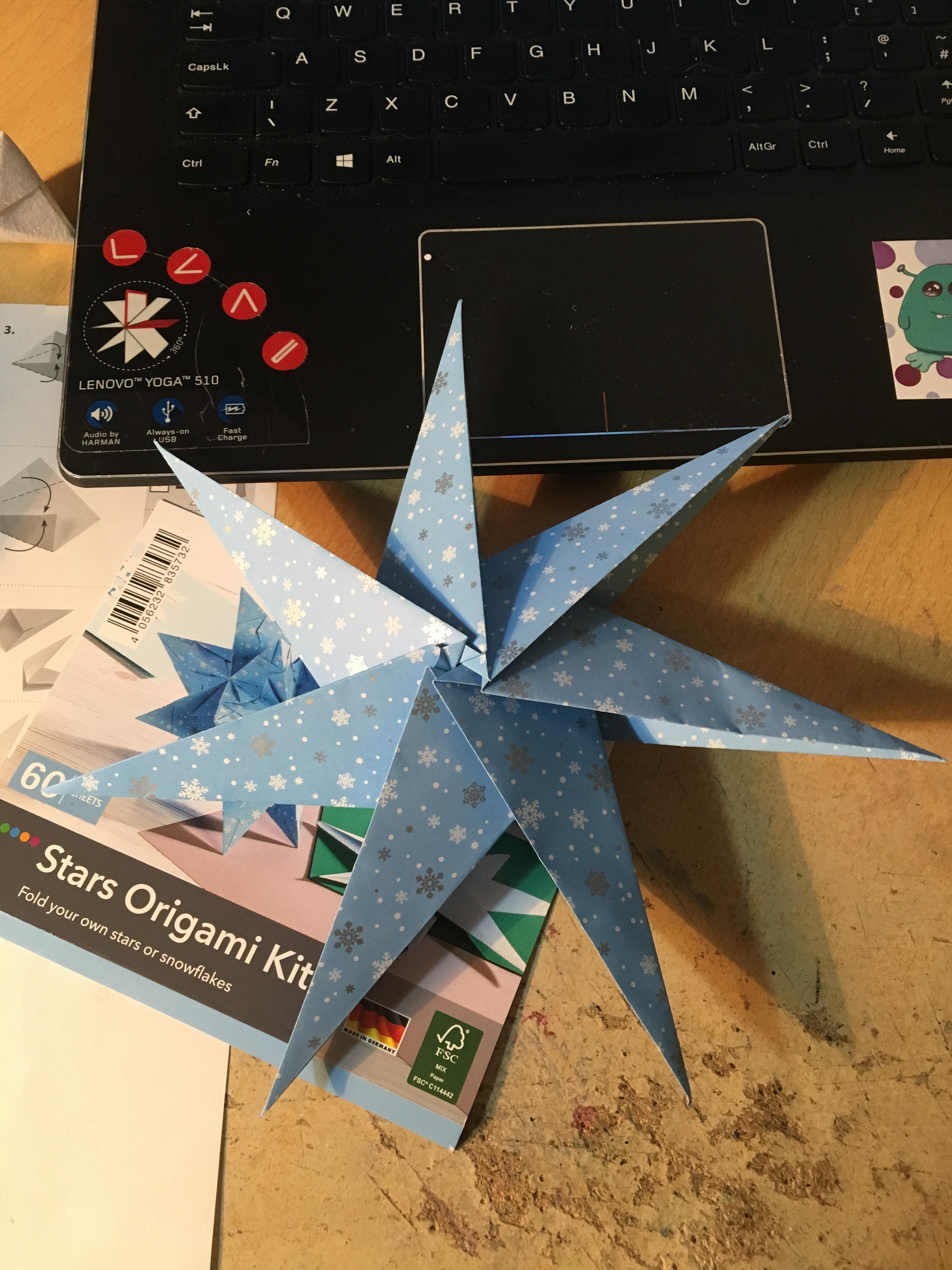 12 x 50 Origami Stars